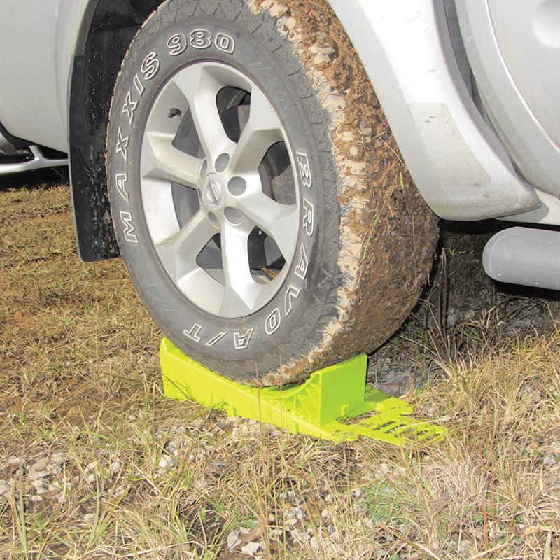 Wheel Ramp, Chock & Anti-Slip Plate