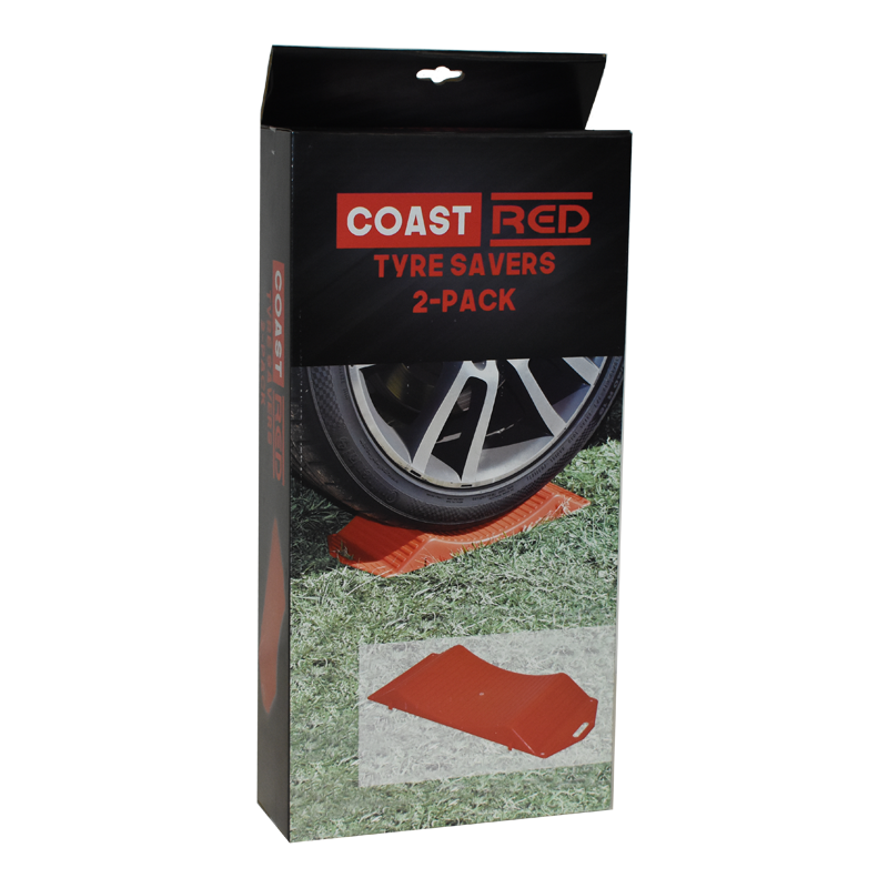 Coast Red Tyre Savers 2-Pack