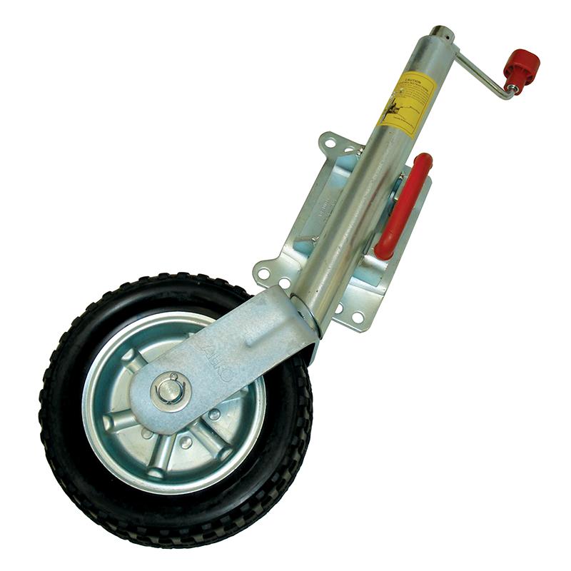 Alko 10 Quot Jockey Wheel With Pin Swivel Bracket