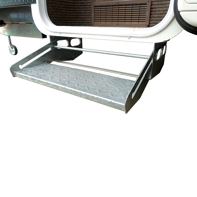 Single Pull-Out Caravan Step