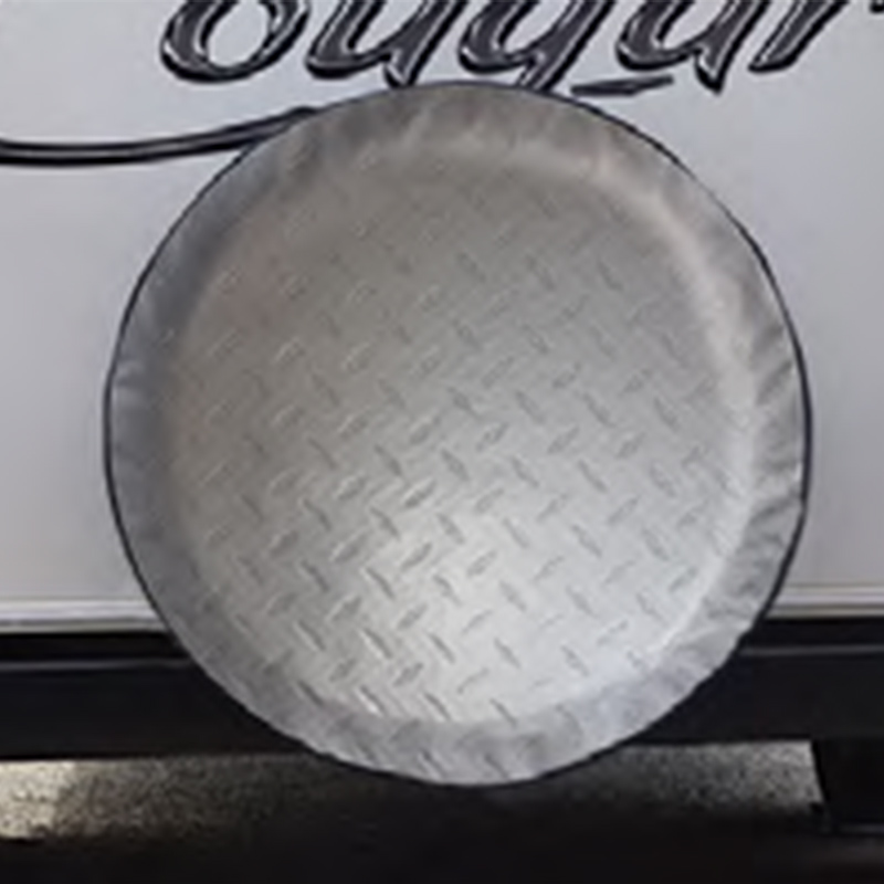 ADCO Tyre Cover Diamond Plate 25 1/2
