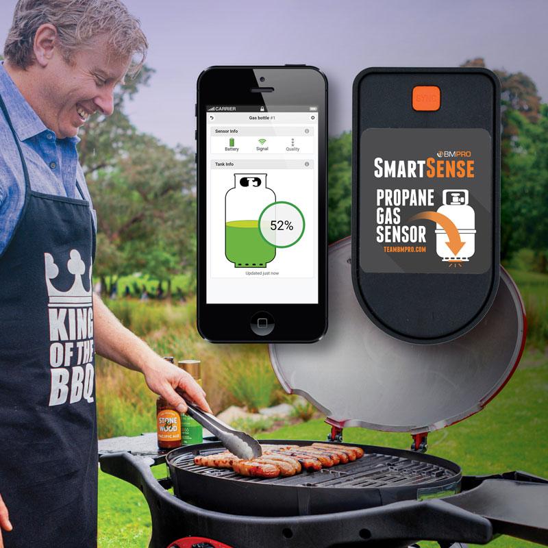 BMPRO SmartSense - Single Gas Bottle Level Monitor & App.