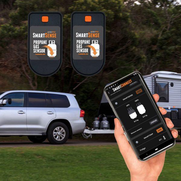 BMPRO SmartSense Premium - Twin Gas Bottle Level Monitor & App