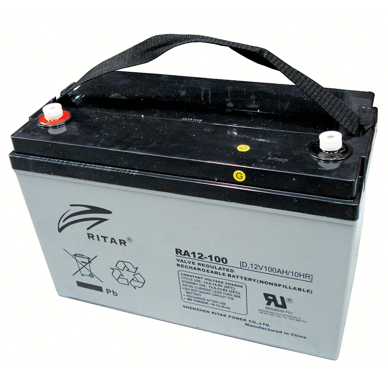 Ritar 12V 100Ah Agm Deep Cycle Battery