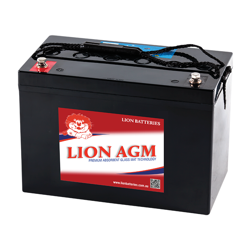 Lion 12V 100AH AGM Deep Cycle Battery