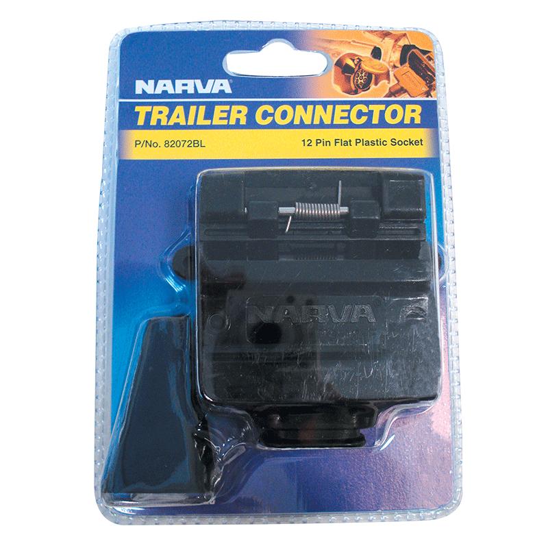 Narva 12 Pin Trailer Socket