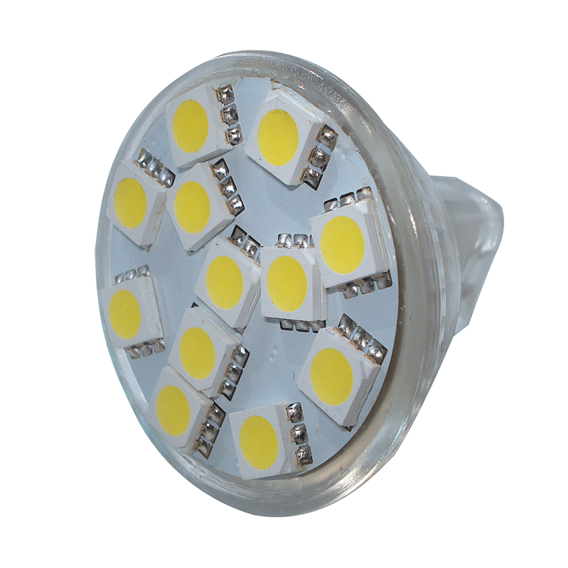 LED MR11 Replacement Bulb - Cool White - 1.8W