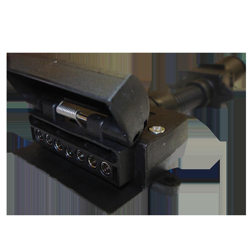Narva Trailer Adaptor 6 Pin Round Car To 7 Pin Flat Van