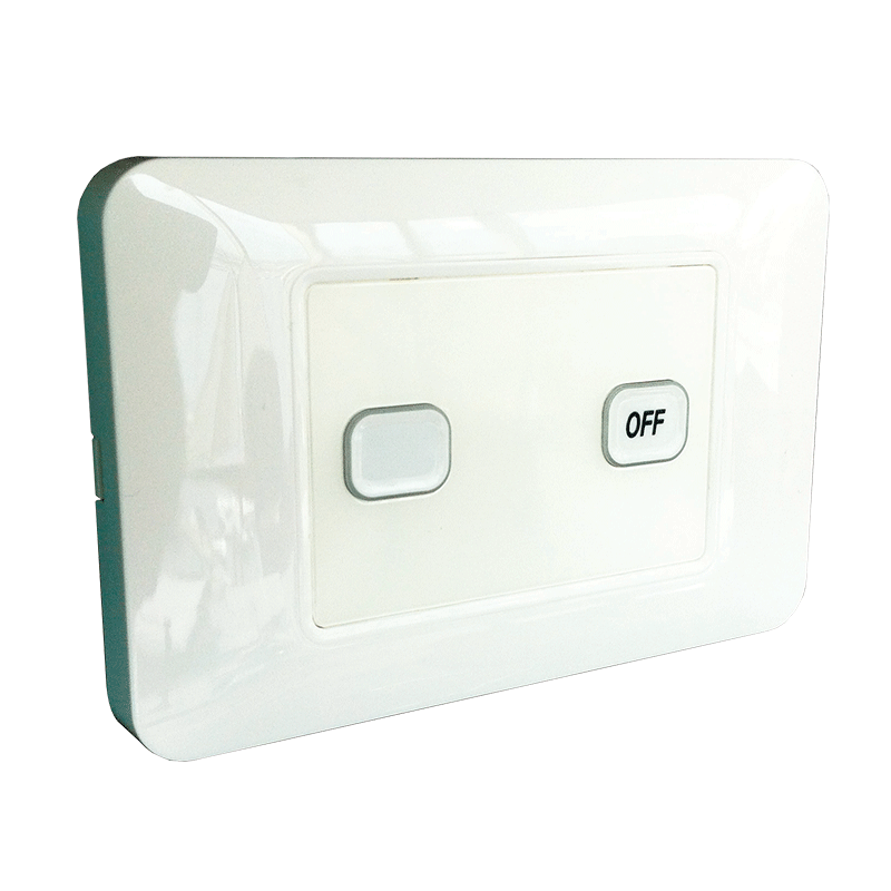 2-Gang Wireless Switch with Master Off