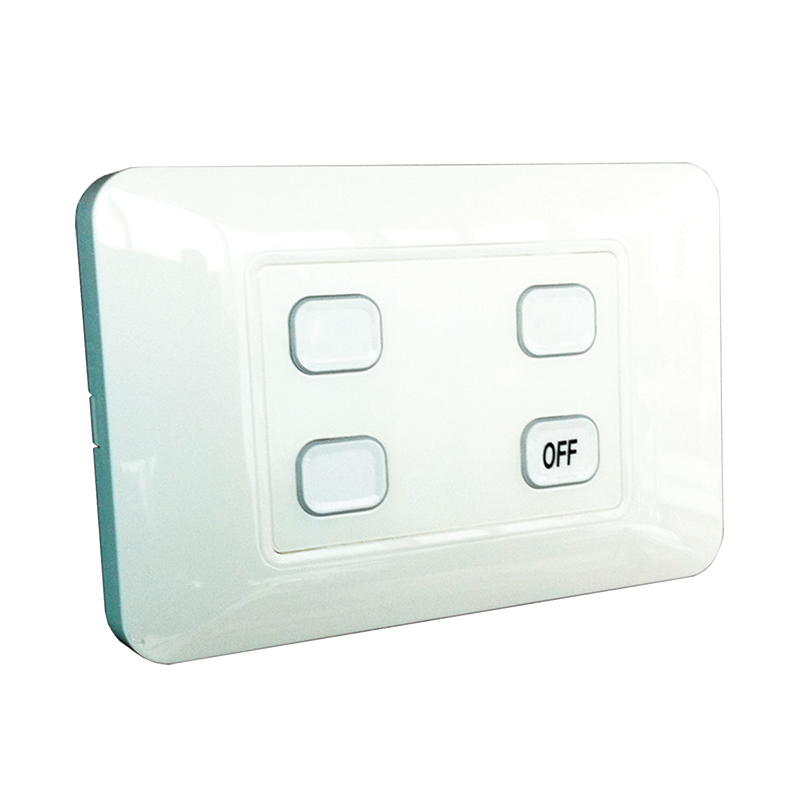 4-Gang Wireless Switch with Master Off