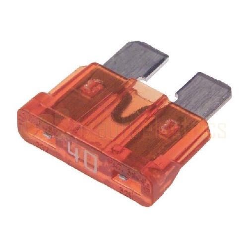 NARVA 40 Amp Light BROWN ATS Blade Fuse - 50 Per Box. 52840