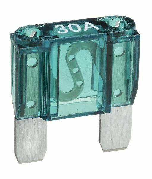 NARVA 30 Amp GREEN MAXI-Blade Fuse - 10 Per Box. 52930