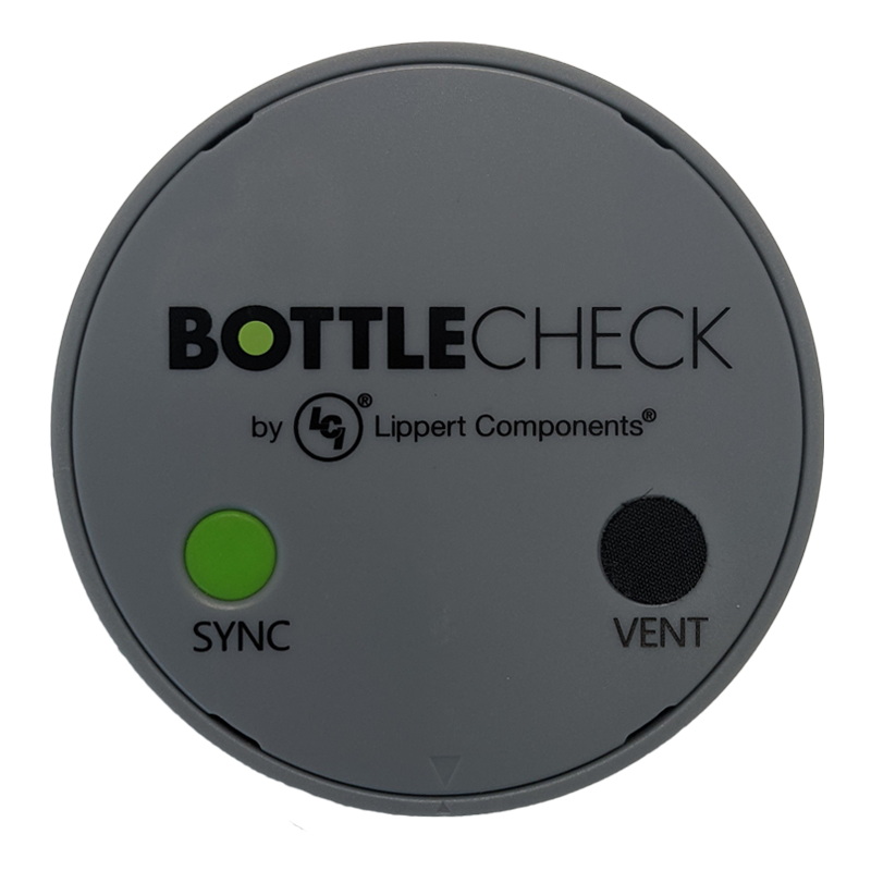 LCI Lippert Bottlecheck Bluetooth GAS Gauge