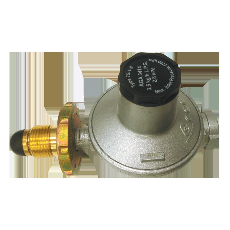 LPG (Single Stage) Gas Regulator - 3.5kg/hr
