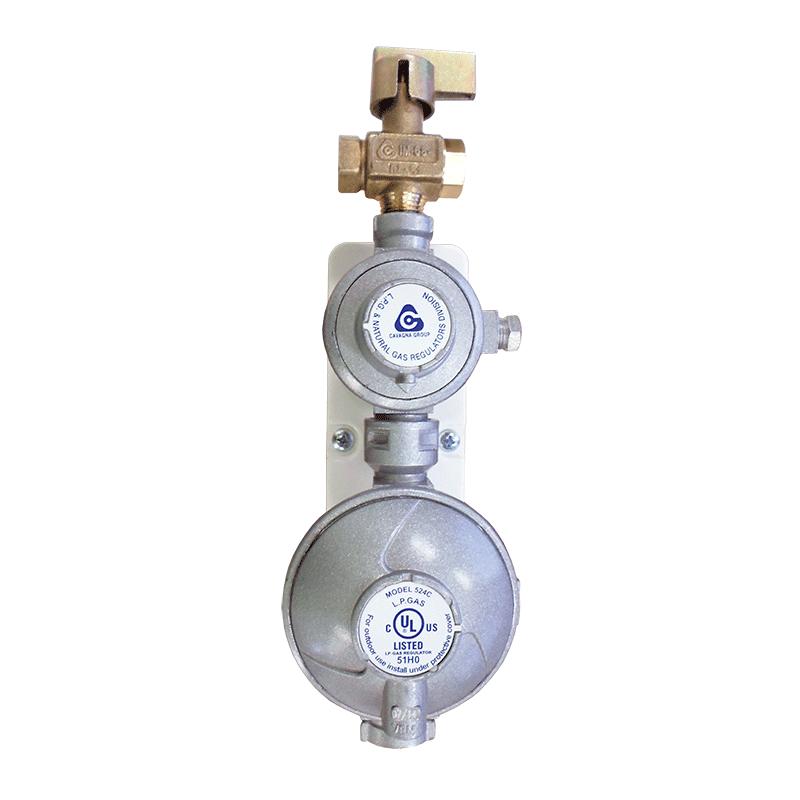 Gas Regulator 160mj & Mounting Bracket