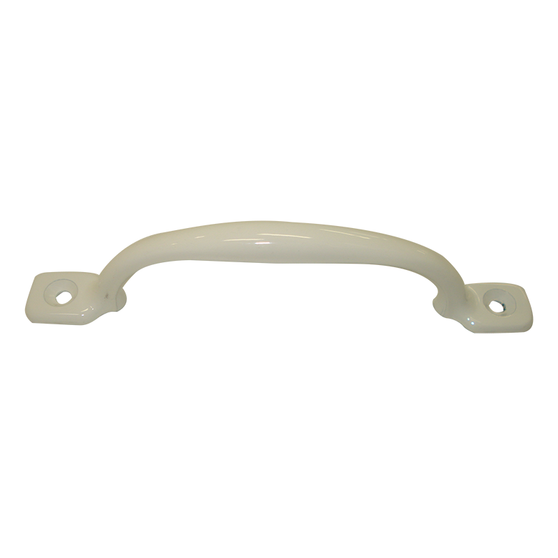 White Metal Grab Handle (150mm) - Jayco