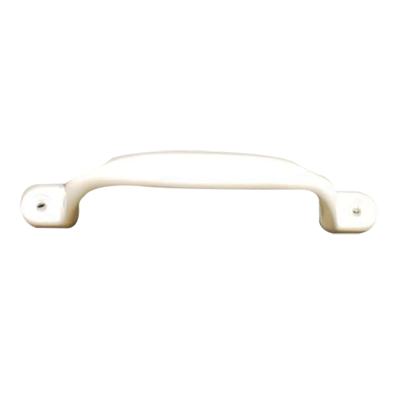 White Metal Grab Handle (100mm)