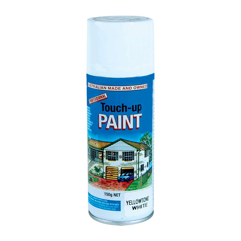 Caravan Touch Up Paint - Yellow Tone White