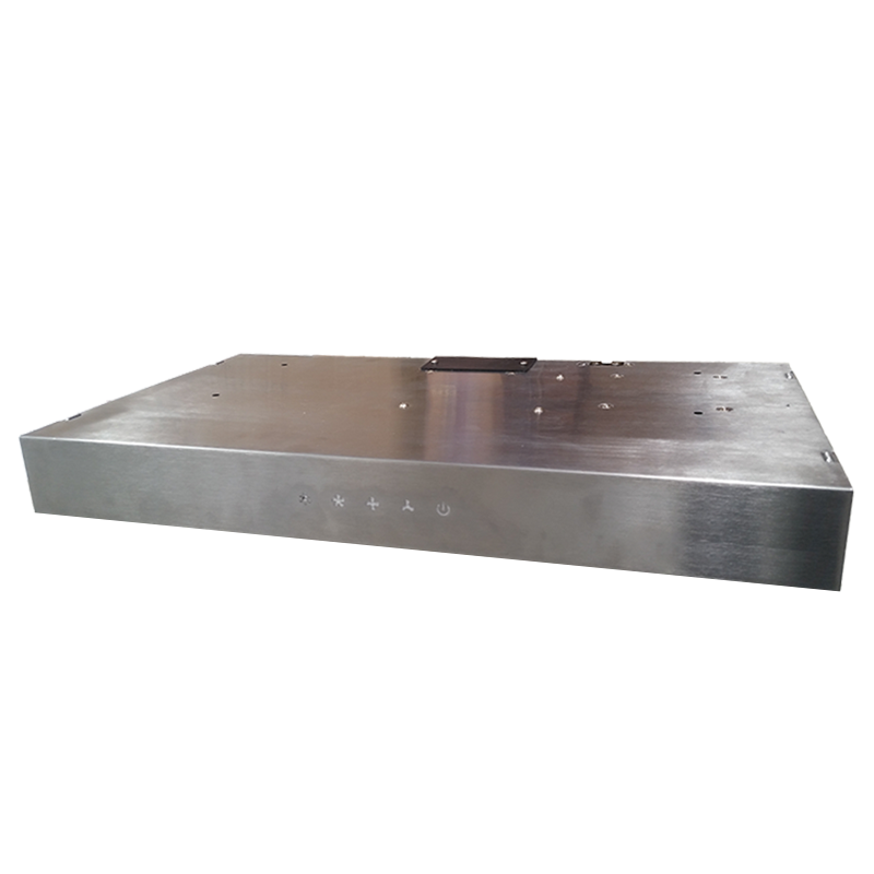 Sphere S/Steel Range Hood with Touch Control.