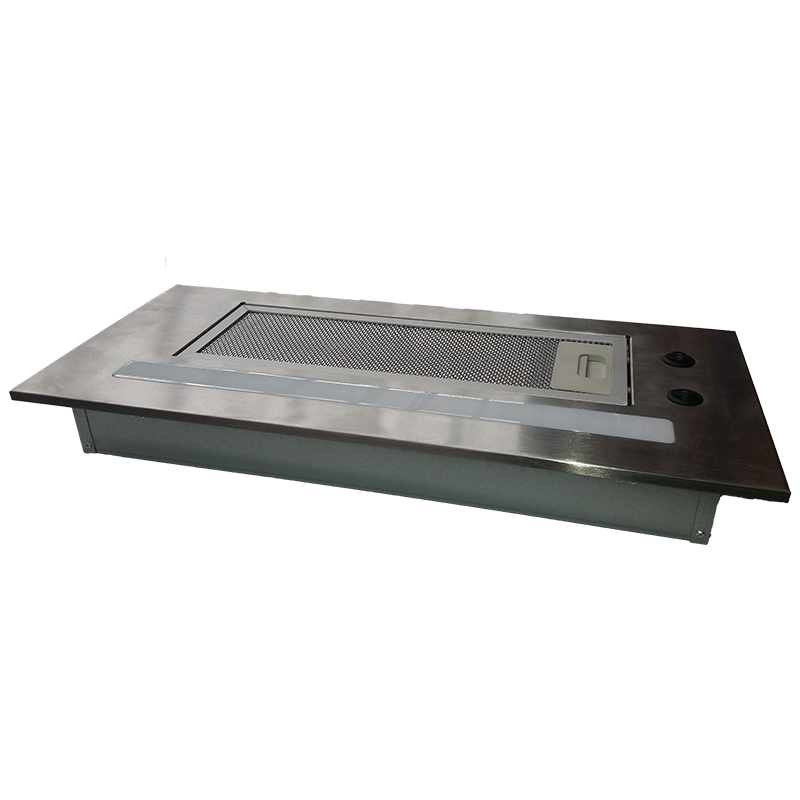 Sphere Range Hood with Push Button Panel