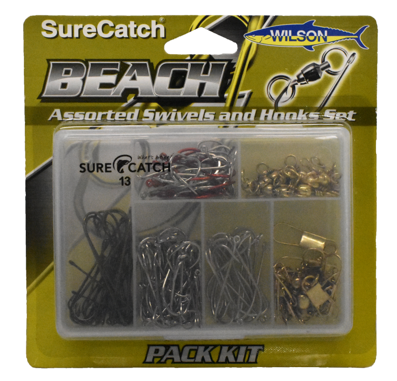 Sure Catch Hook & Swivel Beach Pack