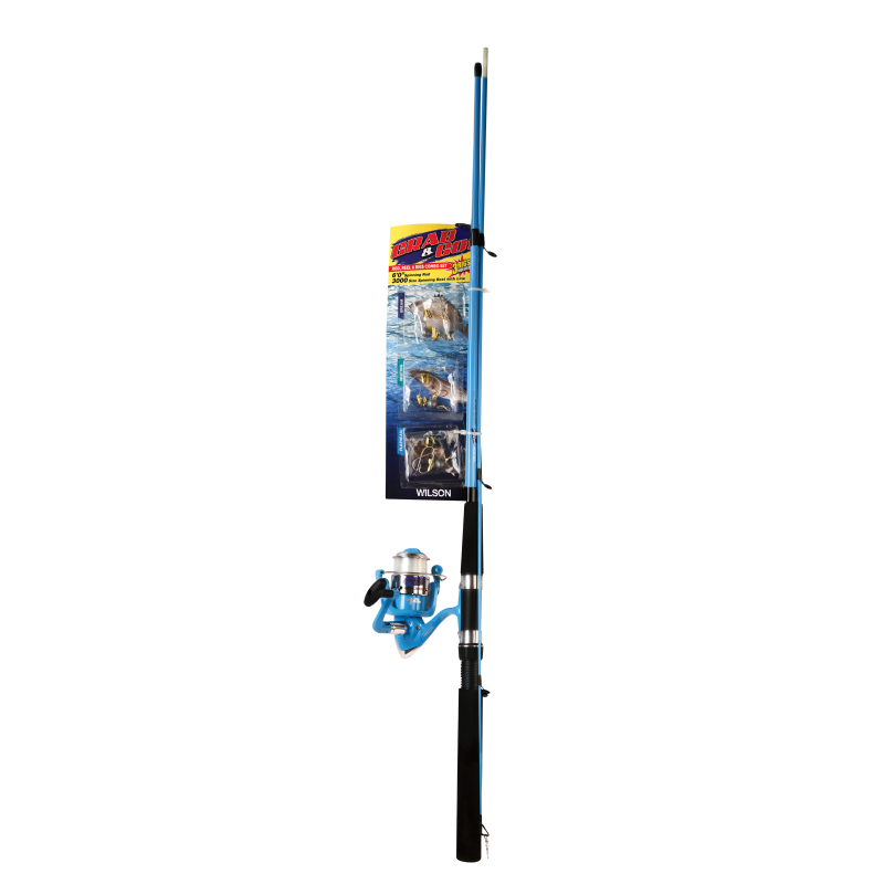 Wilson Blue Grab & Go Northern 6' Combo - 5-10lb Rating