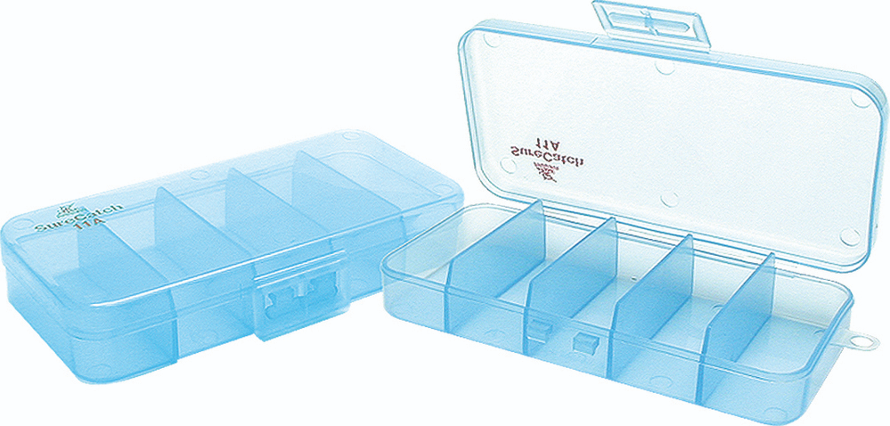 Sure Catch Sml 5 Compartment Tackle Tray - 125mm x  63mm x 25mm