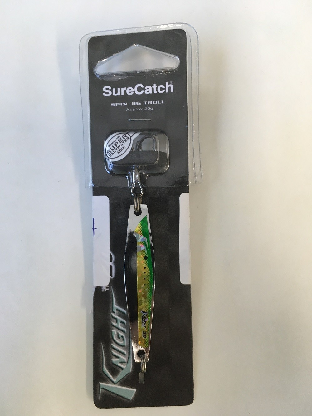 Sure Catch Knight 20 Metal Jig Lure - 20g - 05 Colour