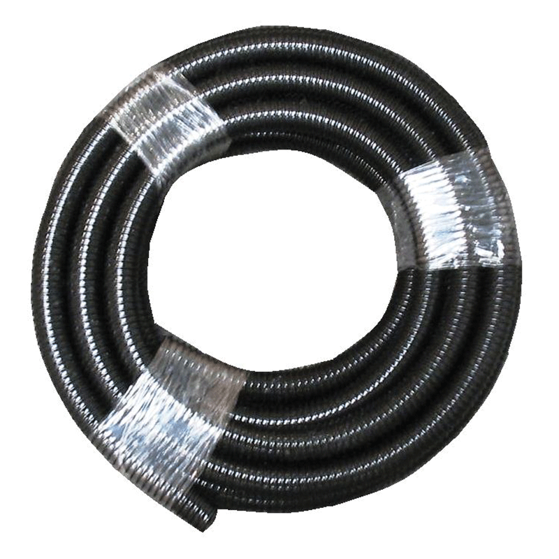 Corrugated Black Flexible Waste Hose 27mmID / 10mtr Roll