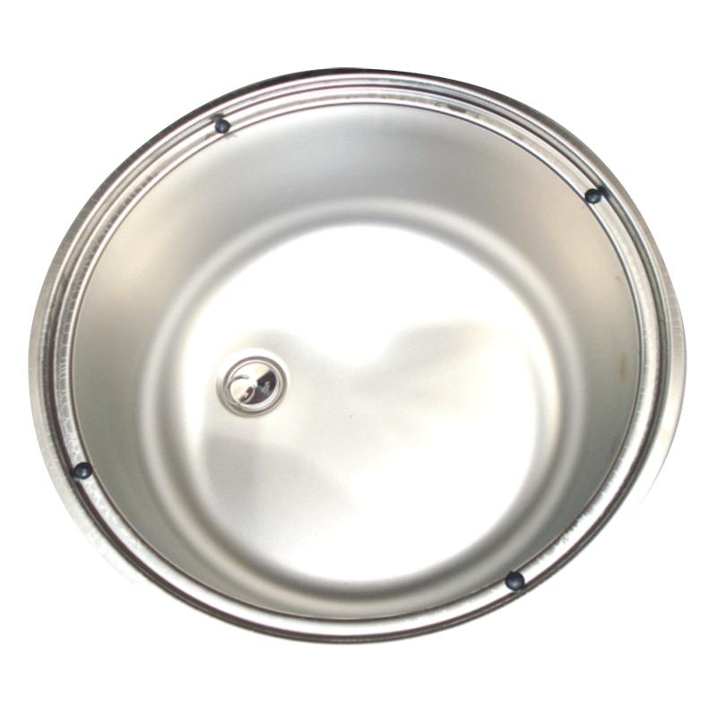 Smev Stainless Steel Round Sink 400mm Diameter