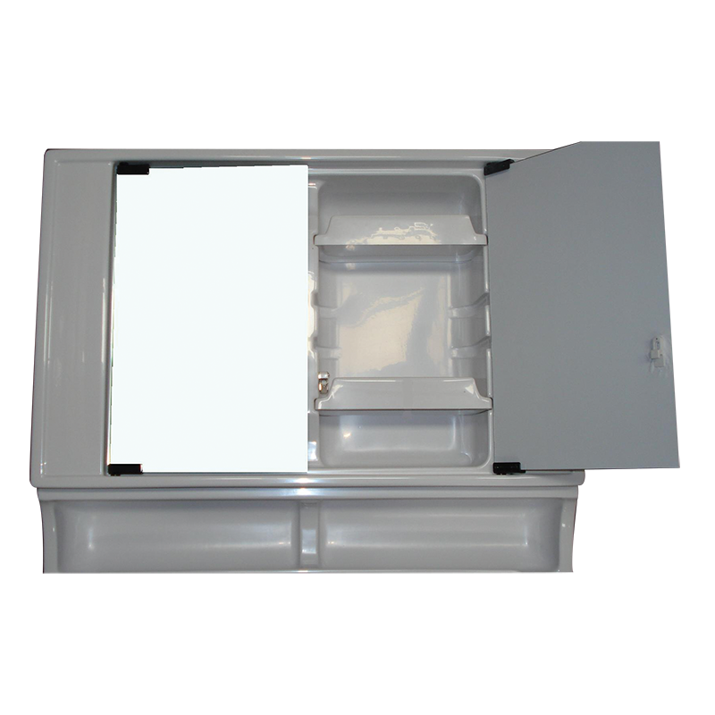 Vt90 Upper Vanity Section With Mirror Doors Coast To
