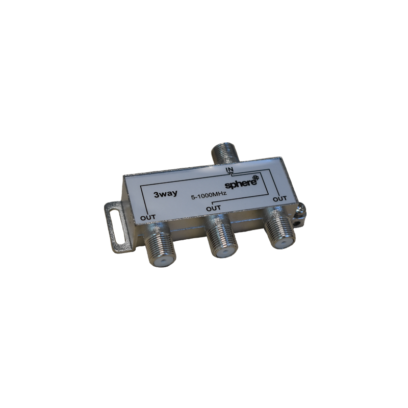 SPHERE 3 Way Splitter (DTV)