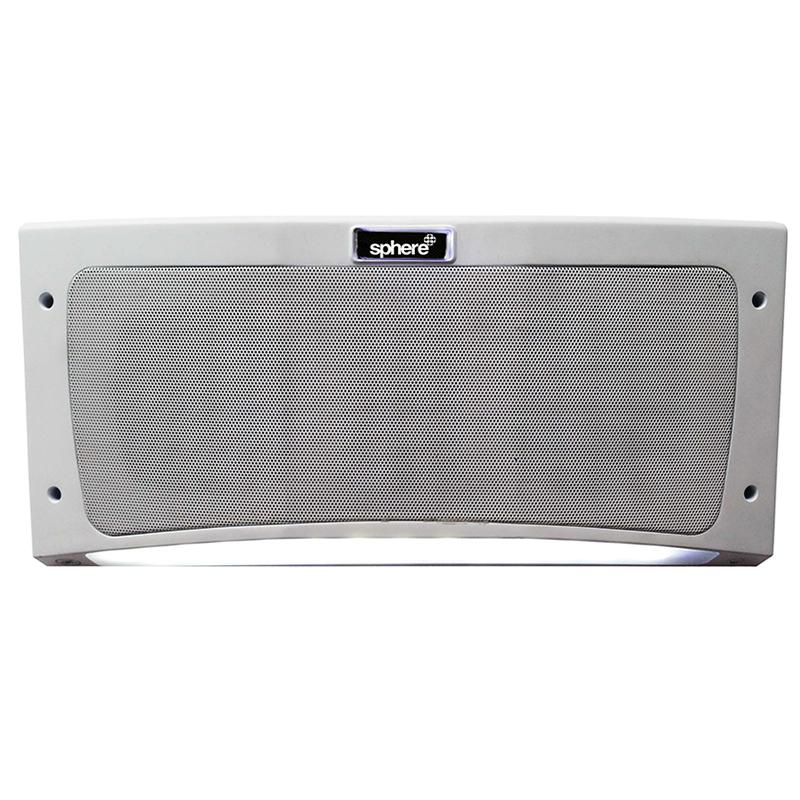 Sphere Bluetooth Outdoor Speaker & Light - White