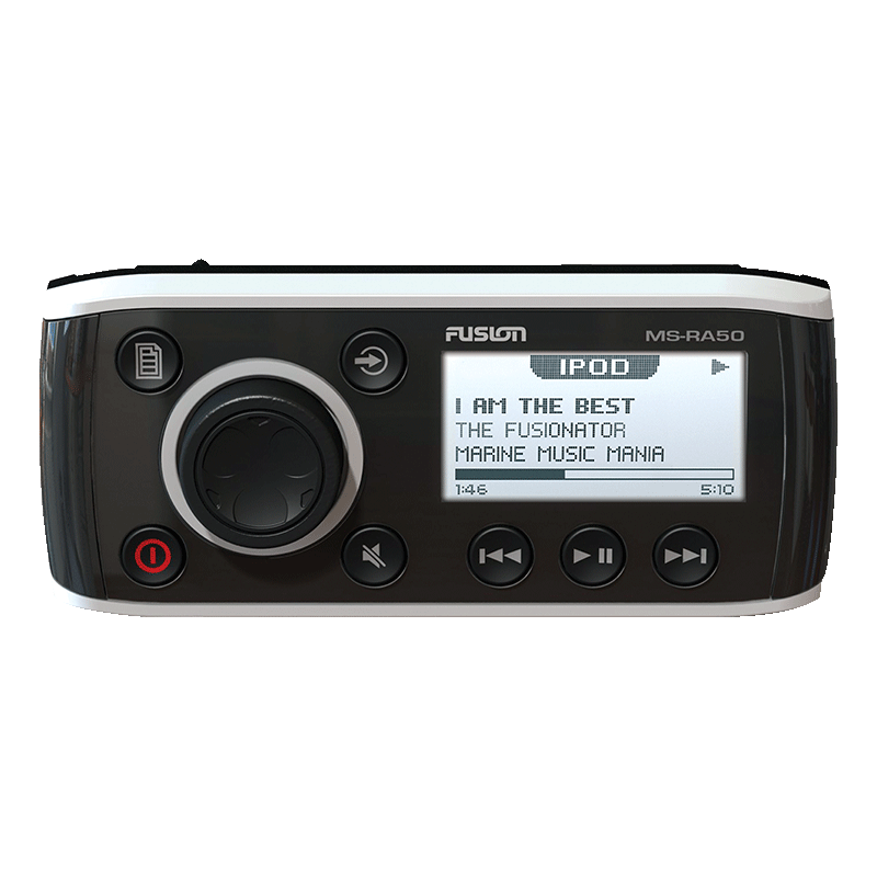 Fusion 50 Series Head Unit AM/FM with Ipod (MS-RA50BT)