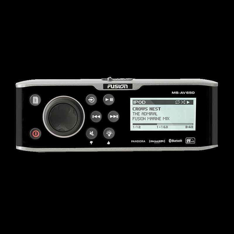 Fusion 650 Series Head Unit AM/FM (MS-AV650)
