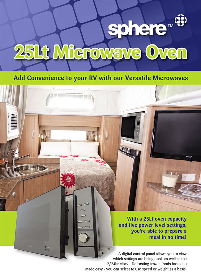 SPHERE MICROWAVE OVEN