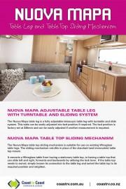 NUOVA MAPA TABLE LEGS & TOP