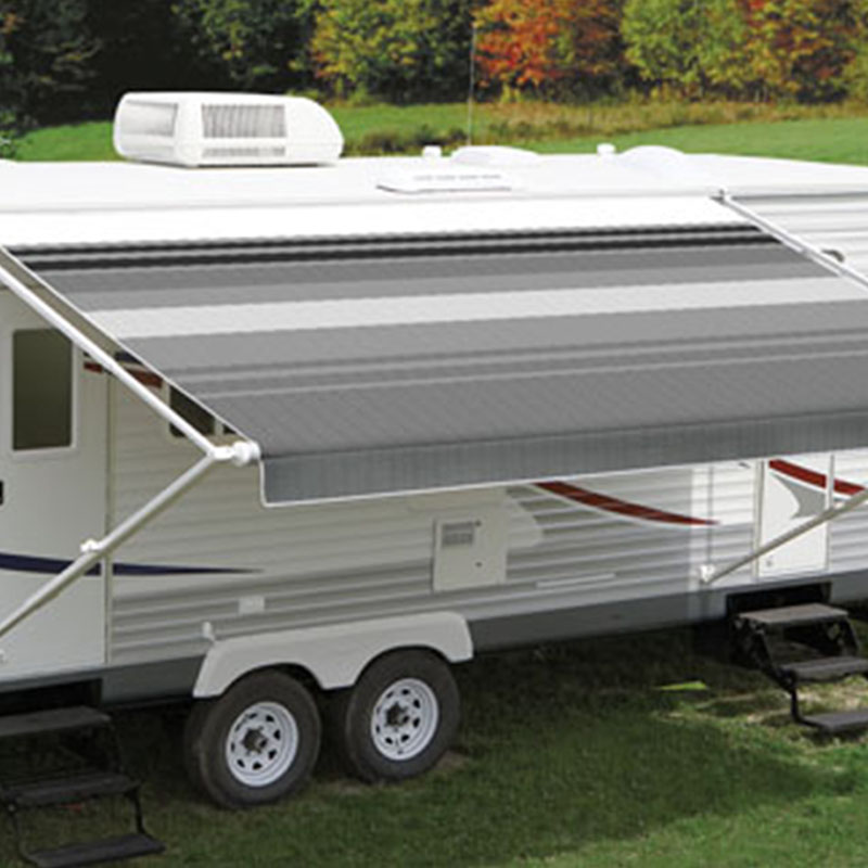 Carefree Black & Gray Dune Roll Out Awning (No Arms)